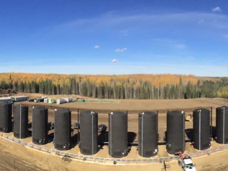 Oil Production Pad